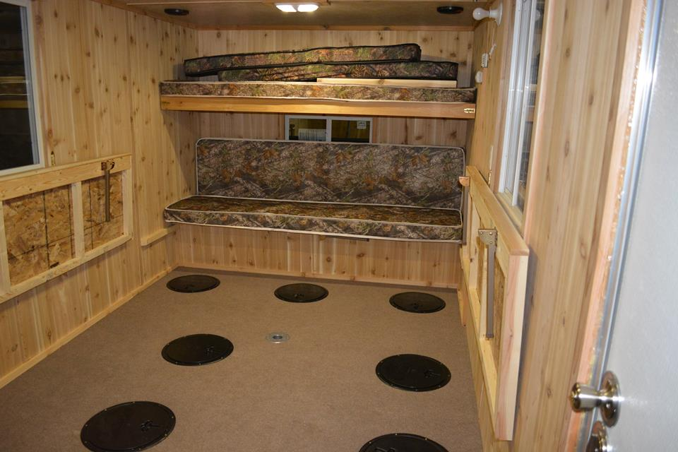 Leech lake fish house rentals rates rent ice fishing for Ice fishing rentals mn